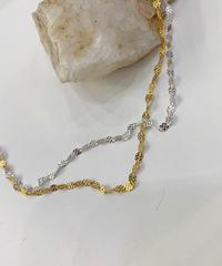 (Silver925)   Circle necklace