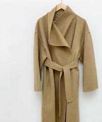【数量限定】high neck  handmade coat