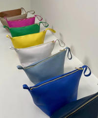 real leather one hand pouch bag  (10Color)