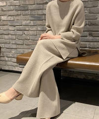 Wool cashmere KnitSETUP (2color)