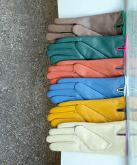 Real leather gloves (6color)