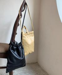 (数量限定)cowleather 2way bag (2color)