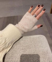 Knit arm warmer  (4color)