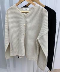 diagonal cardigan (2color)