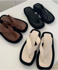 Leather Sandal (3Color)(yb-013)