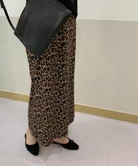 Leopard skirt (2color)