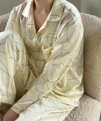 drowing pajama(ヘアゴムset)