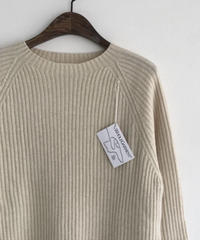 Wool cashmere KnitTops (2color)