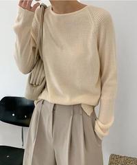 spring rib knit (3color)