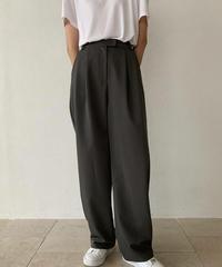 spring wide slacks pants  (3color)