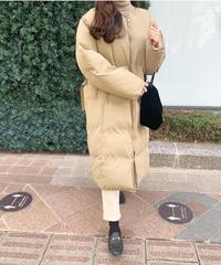 2way longdown coat (フード取り外し可能)
