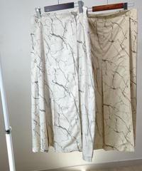 drowing Wrap skirt  (2color)