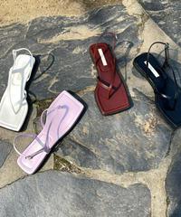 stitch sq sandal  (4Color)