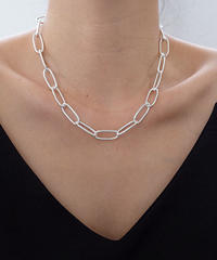 (Silver925)   Middle chain Necklace