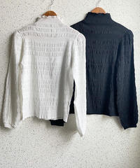 Wrinkle Blouse(2color)