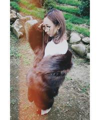 Cocoon Fake Fur Coat コクーンフェイクファーコート