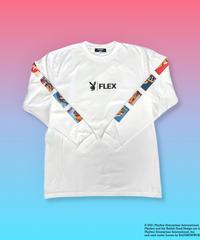 PLAYBOY × FLEX  L/S Tee