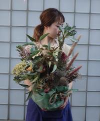 【アレンジ】お祝い花 ドライフラワー