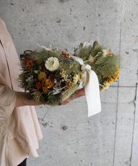dry flower クッション型