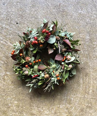 Dry  Autumu wreath