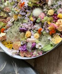 dry flower box C