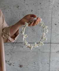 dry flower wreath