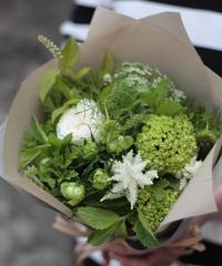 5月の花贈り ナチュラルブーケ (長崎市内近郊便)5月14日~31日お届け・ご来店受け取り