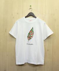 リーフTシャツ ホワイト