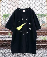 DISCOVERYモチーフ・デザインTシャツ【ブラック】*Mサイズ無