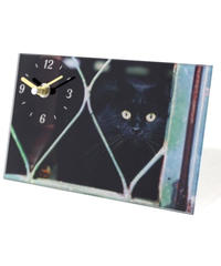 GLASS  ART  PICTURE  CLOCK (CAT A)