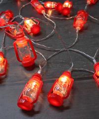 LED Lanterngarland (10P)