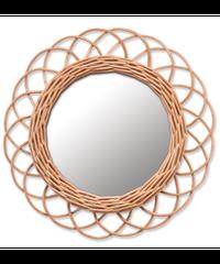WICKER Mirror (Sサイズ)