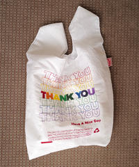 【OPEN EDITIONS 】 THANK YOU Tote / THANK YOU-Rainbow