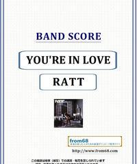 RATT(ラット) / YOU'RE IN LOVE バンド・スコア(TAB譜) 楽譜 from68