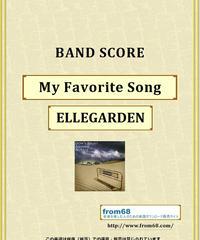 ELLEGARDEN (エルレガーデン) / My Favorite Song バンド・スコア(TAB譜) 楽譜