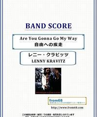 レニー・クラビッツ(LENNY KRAVITZ)  / 自由への疾走(Are You Gonna Go My Way) バンド・スコア(TAB譜)