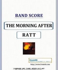 ラット(RATT) / モーニング・アフター(THE MORNING AFTER) バンド・スコア(TAB譜) 楽譜 from68