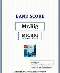 MR.BIG (ミスター・ビッグ) / MR.BIG バンド・スコア(TAB譜) 楽譜 from68