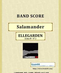 ELLEGARDEN (エルレガーデン) / Salamander バンド・スコア(TAB譜) 楽譜