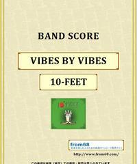 10-FEET / VIBES BY VIBES バンド・スコア(TAB譜) 楽譜 from68
