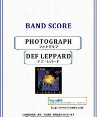 デフ・レパード(DEF LEPPARD)  / フォトグラフ(PHOTOGRAPH) バンド・スコア(TAB譜) 楽譜