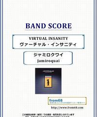 ジャミロクワイ (Jamiroquai) / VIRTUAL INSANITY (ヴァーチャル・インサニティ)  バンド・スコア(TAB譜) 楽譜
