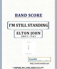 エルトン・ジョン(ELTON JOHN) / I'M STILL STANDING バンド・スコア 楽譜 from68