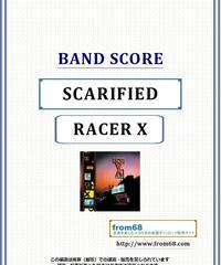 レーサーX (RACER X)  / SCARIFIED (スカリファイド)  バンド・スコア(TAB譜) 楽譜
