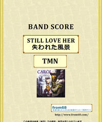 TMN (TM NETWORK) / STILL LOVE HER  (失われた風景)  バンド・スコア(TAB譜)  楽譜