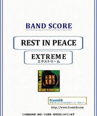 エクストリーム (EXTREME) / REST IN PEACE バンド・スコア(TAB譜) 楽譜 from68