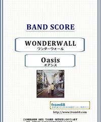 オアシス (Oasis) / WONDERWALL(ワンダーウォール)  バンド・スコア(TAB譜) 楽譜