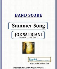 ジョー・サトリアーニ(JOE SATRIANI) / Summer Song バンド・スコア(TAB譜) 楽譜 from68