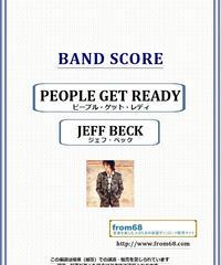 ジェフ・ベック(JEFF BECK) / ピープル・ゲット・レディ(PEOPLE GET READY)  バンド・スコア(TAB譜) 楽譜