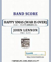 ジョン・レノン(JOHN LENNON) / HAPPY XMAS (WAR IS OVER)  - ハッピー・クリスマス (戦争は終わった) - バンド・スコア(TAB譜) 楽譜 from68
